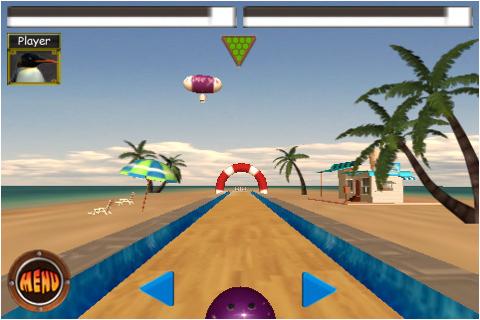 Screenshot Penguin's Bowling Lite